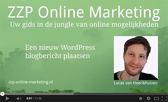 video-nieuw-blogbericht-wordpress