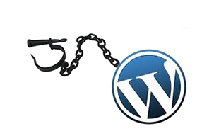wordpress-ball-and-chain